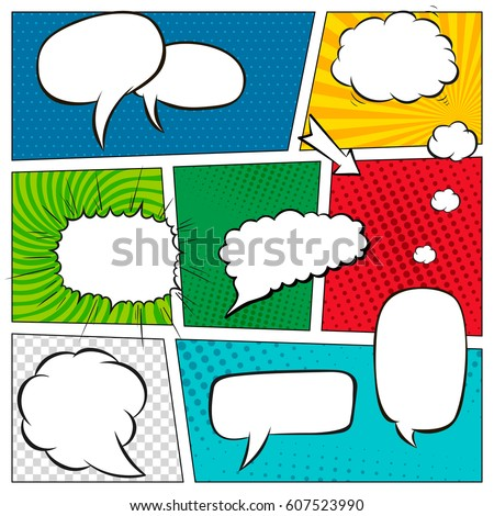 Comic Strip Stock Images RoyaltyFree Images  Vectors  Shutterstock