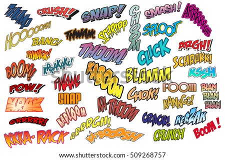 Onomatopoeia Stock Images Royalty Free Images Amp Vectors