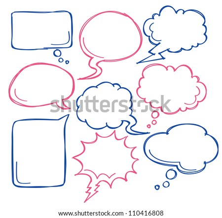 comic bubble speech - stock vector