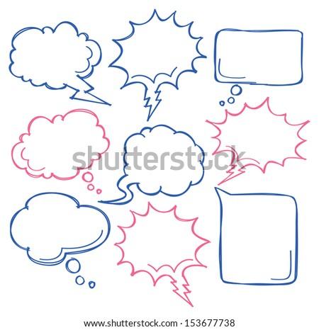 comic bubble speech - stock vector