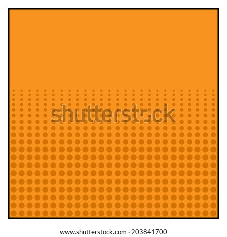 Comics Color Halftone Background graphic effects. Vector illustration - stock vector