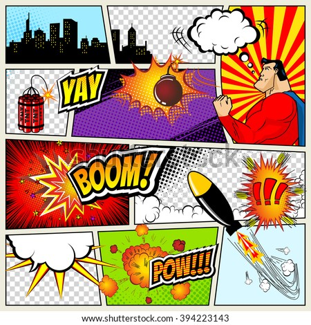Comic Book Stock Images, Royalty-Free Images & Vectors | Shutterstock
