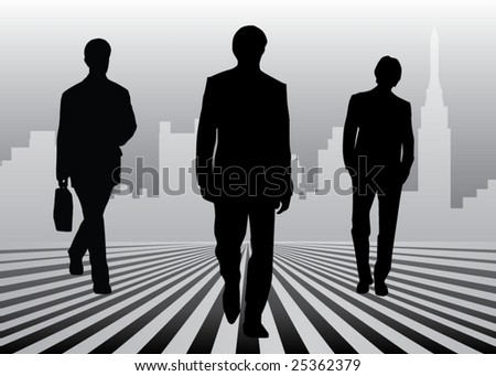 Coming businessmen