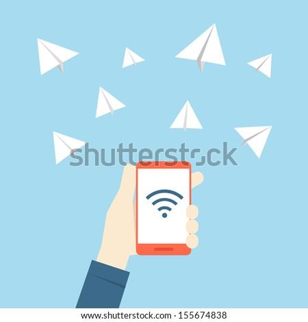 communication - stock vector