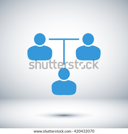 communication concept. connection icon - stock vector