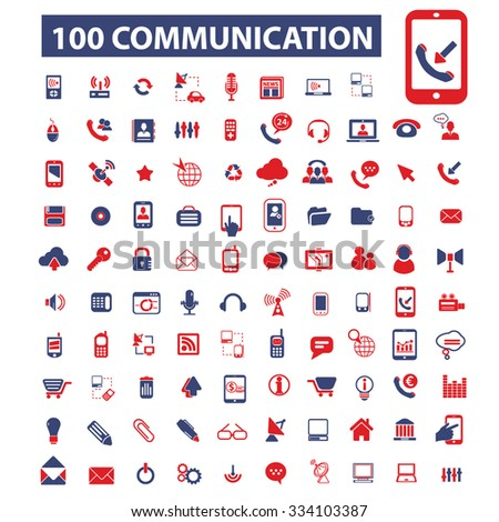 communication, connection, technology, mobile icons, signs vector concept set for infographics, mobile, website