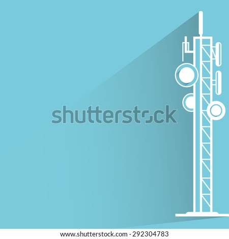 Communication Tower Stock Vectors, Images & Vector Art ...