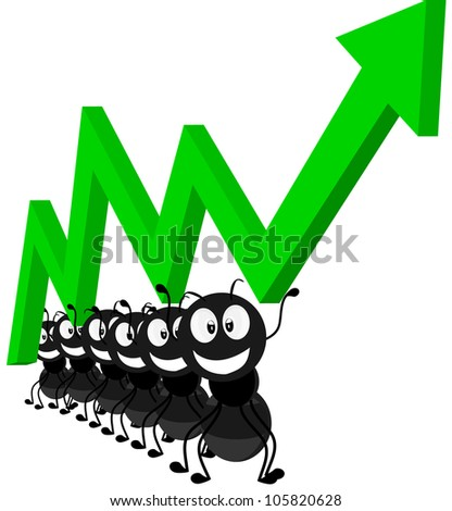 compact and small black arrows - stock vector
