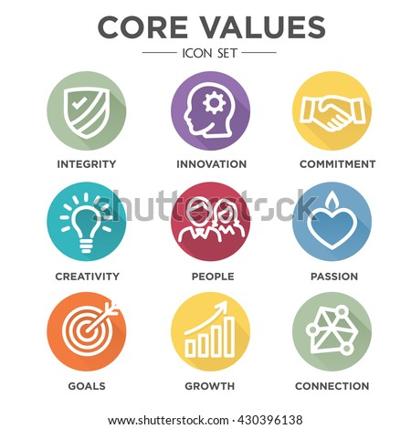 Infographic Ideas infographic definition of respect dictionary : Core Values Stock Photos, Royalty-Free Images & Vectors - Shutterstock