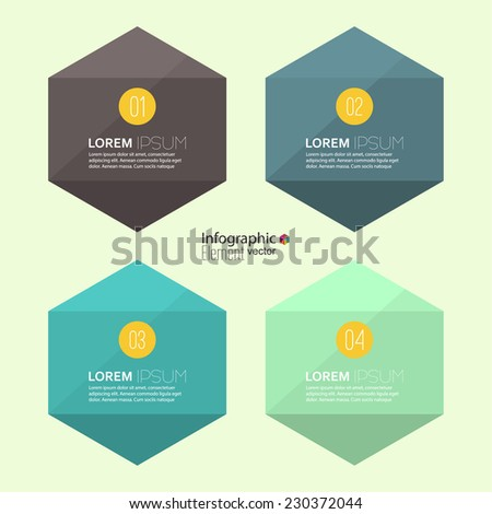 Comparative chart with banner for presentation, informative forms. Option. Infographic for  annual report, statistics, info chart, advertising, web button, explanation. Process step by step. analyze - stock vector