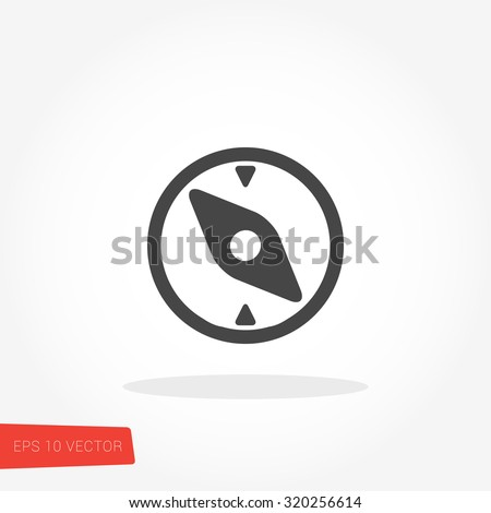Compass Icon / Compass Icon Object / Compass Icon Picture / Compass Icon Image / Compass Icon Graphic / Compass Icon Art / Compass Icon JPG / Compass Icon JPEG / Compass Icon EPS / Compass Icon AI - stock vector