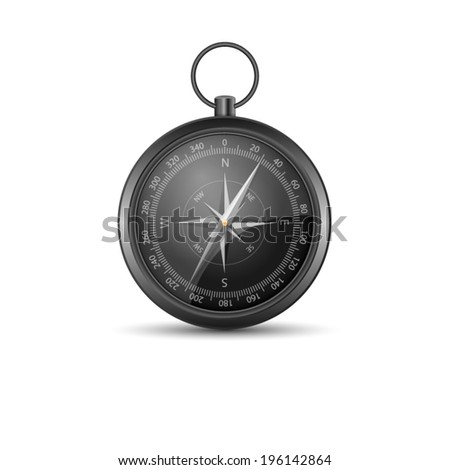 compass isolated on a white background.