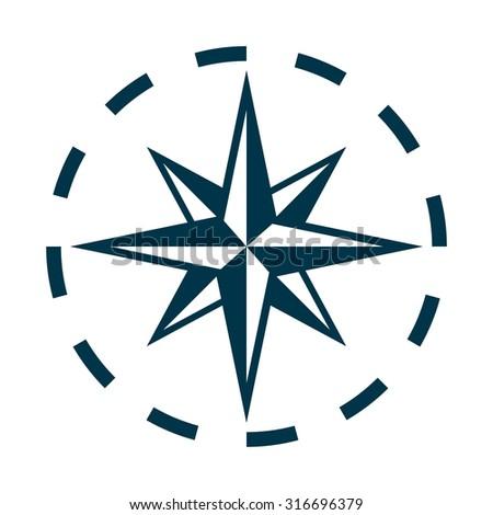 compass logo vector stock vector royalty free 316696379 shutterstock