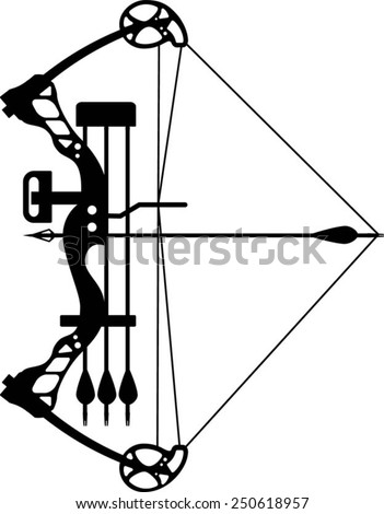 compound bow stock images  royalty