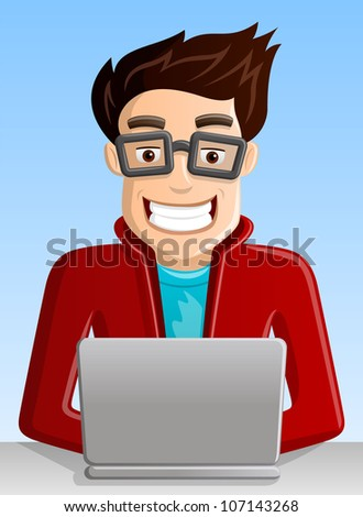 Computer Geek Stock Photos Images Amp Pictures Shutterstock