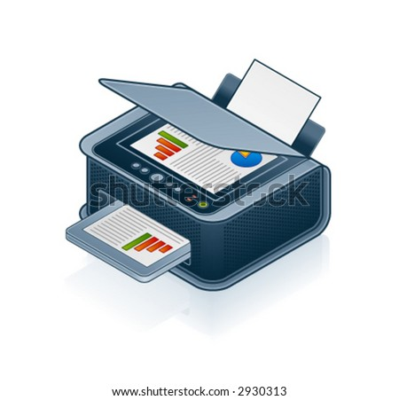 Computer Hardware Icons Set - Design Elements 55o04, it's specially designed with a web designers in mind to achieve PIN SHARP ICONS ON A SCREEN - stock vector
