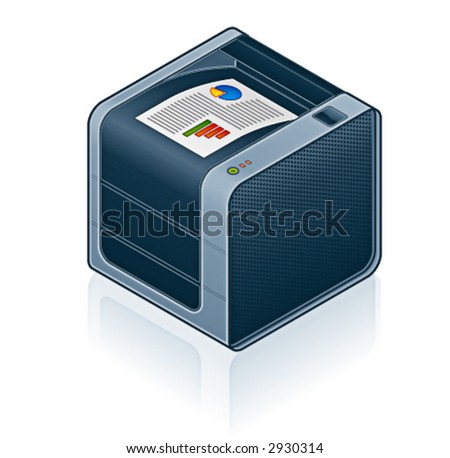 Computer Hardware Icons Set - Design Elements 55o02, it's specially designed with a web designers in mind to achieve PIN SHARP ICONS ON A SCREEN - stock vector