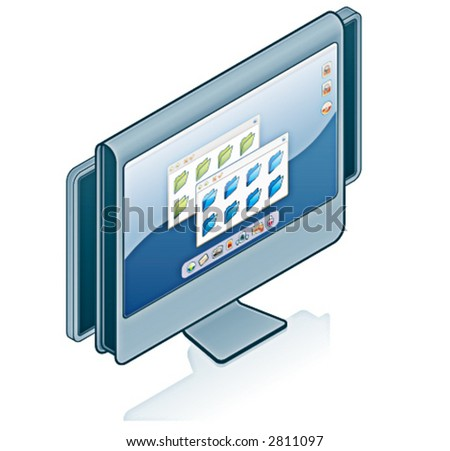 Computer Hardware Icons Set - Design Elements 55wf, it's specially designed with a web designers in mind to achieve PIN SHARP ICONS ON A SCREEN