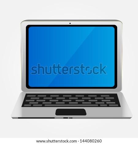 Computer icon vector illustration - stock vector