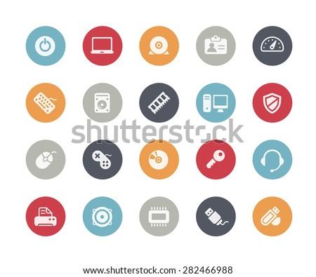 Computer Icons // Classics Series - stock vector