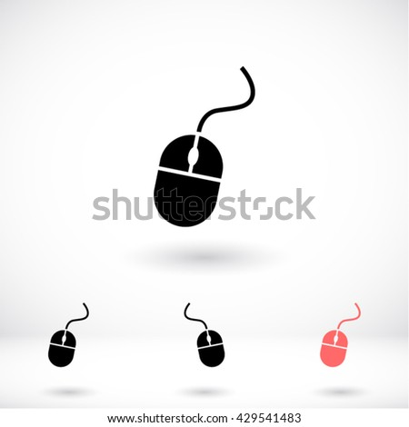 Computer mouse vector icon