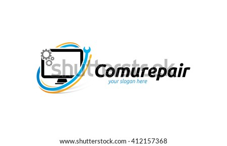 computer logo stock images royaltyfree images amp vectors