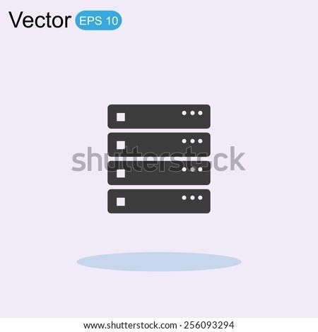 Computer Server Icon Computer Server Icon Stock