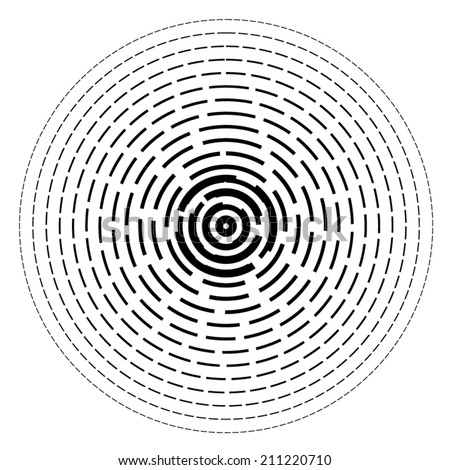 Concentric Lines Stock Images Royalty Free Images