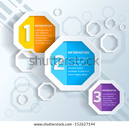 Concept Business infographics. - stock vector