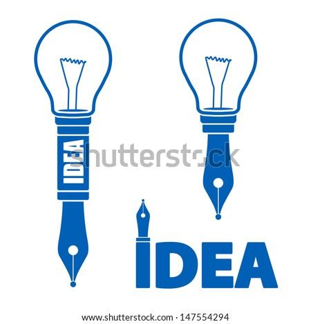concept idea symbols - stock vector