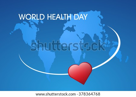 concept illustration World Health day
