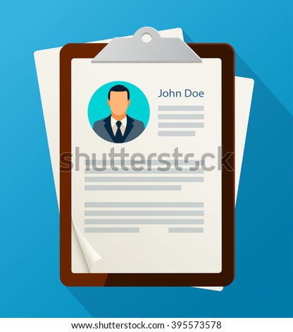 Concept of human resources management.  Finding professional staff.  - stock vector