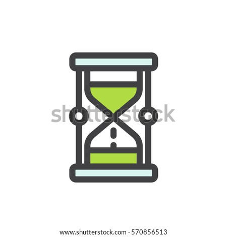 Concept Patience Deadline Limit Meet Deadlines Stock Vector