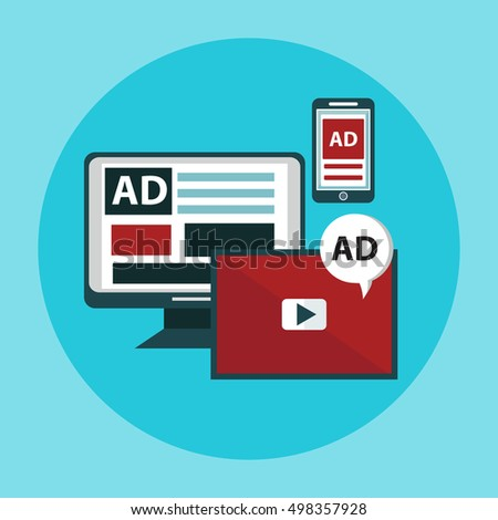 Concepts for video marketing, digital marketing, advertising, social media, web and mobile app and services, e-commerce, SEO. Concepts for website banners and printed materials