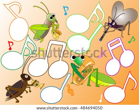 Concert of the insect