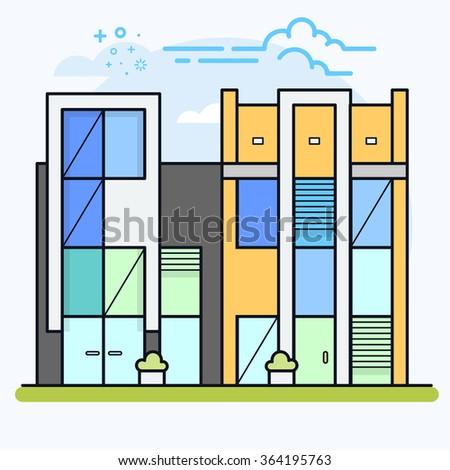Ico maker 39 s portfolio on shutterstock for Apartment building maker