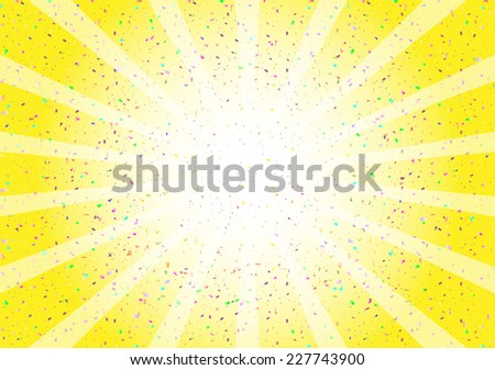 confetti - stock vector