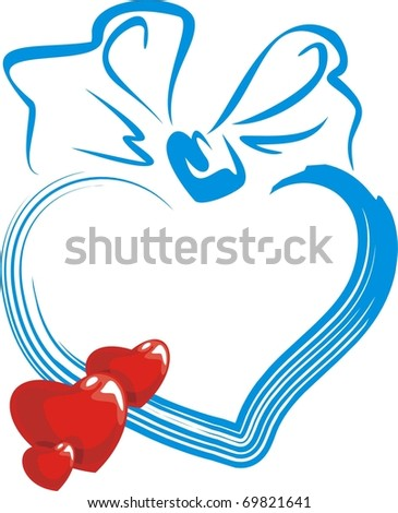 Congratulation by day in love - stock vector