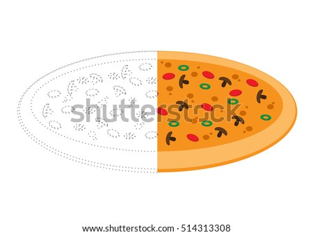 Connecting Dots and Coloring Pizza