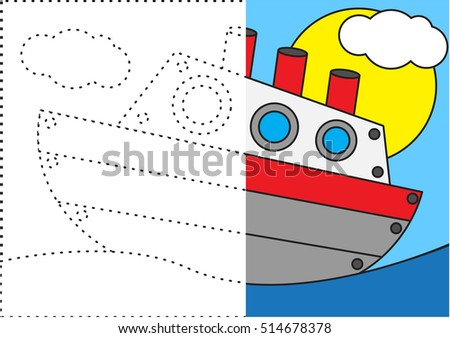 Connecting Dots and Coloring Ship