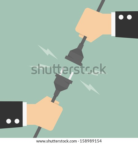 Connection - stock vector