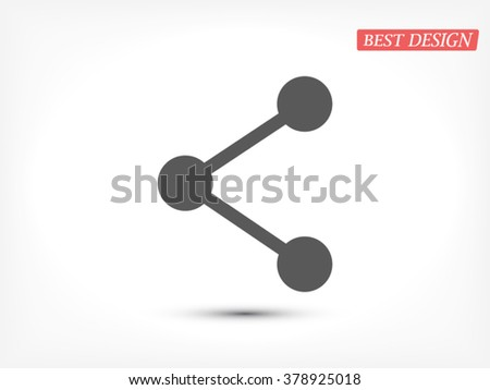 Connection icon - stock vector