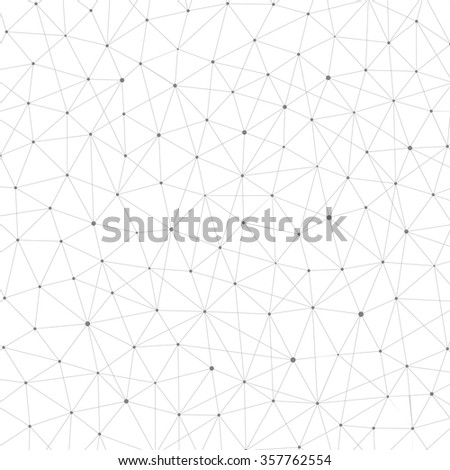 Connection structure. Structure molecule of DNA and neurons. Abstract background. Medicine, science and technology. Vector illustration for your design. - stock vector