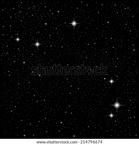 Constellation Aries - stock vector
