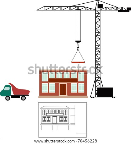 Constructing - stock vector