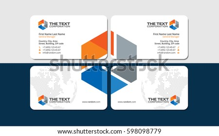 Construction engineering business cards white multicolor stock construction and engineering business cards white and multicolor design template fbccfo Choice Image