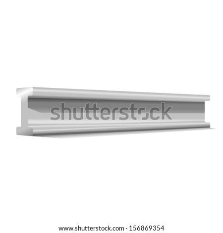 construction beam - stock vector