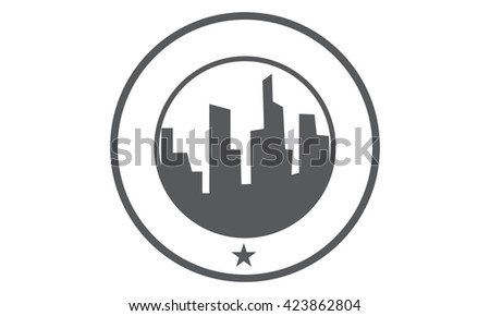 Construction Building  - stock vector