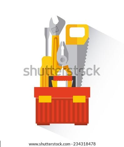 construction design , vector illustration - stock vector