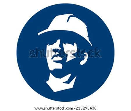 Construction Guy - stock vector